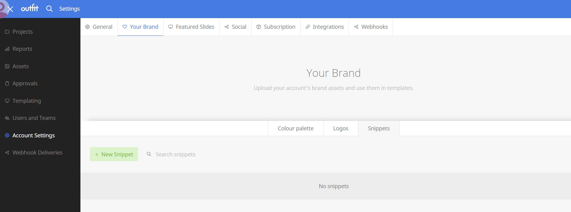 User Interface Screenshot